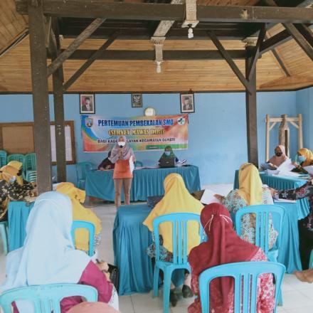 PEMBEKALAN SURVEY MAWAS DIRI (SMD)